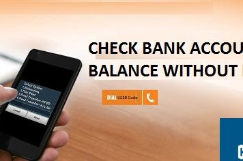 check bank account balance without internet